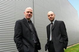 Dr. Lionel Jouffe and Dr. Paul Munteanu, cofounders of Bayesia