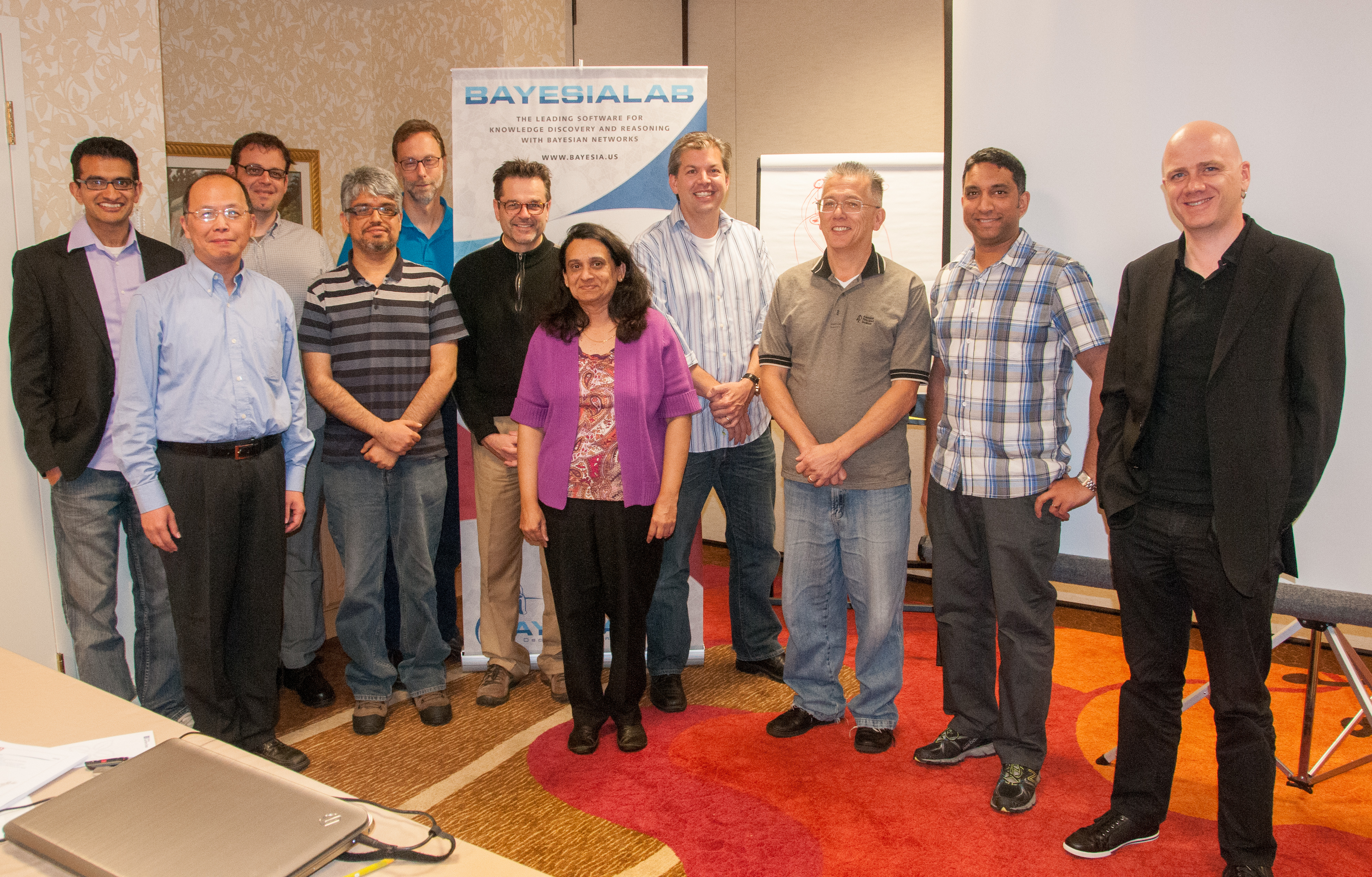 BayesiaLab Course in Orlando, October 2013