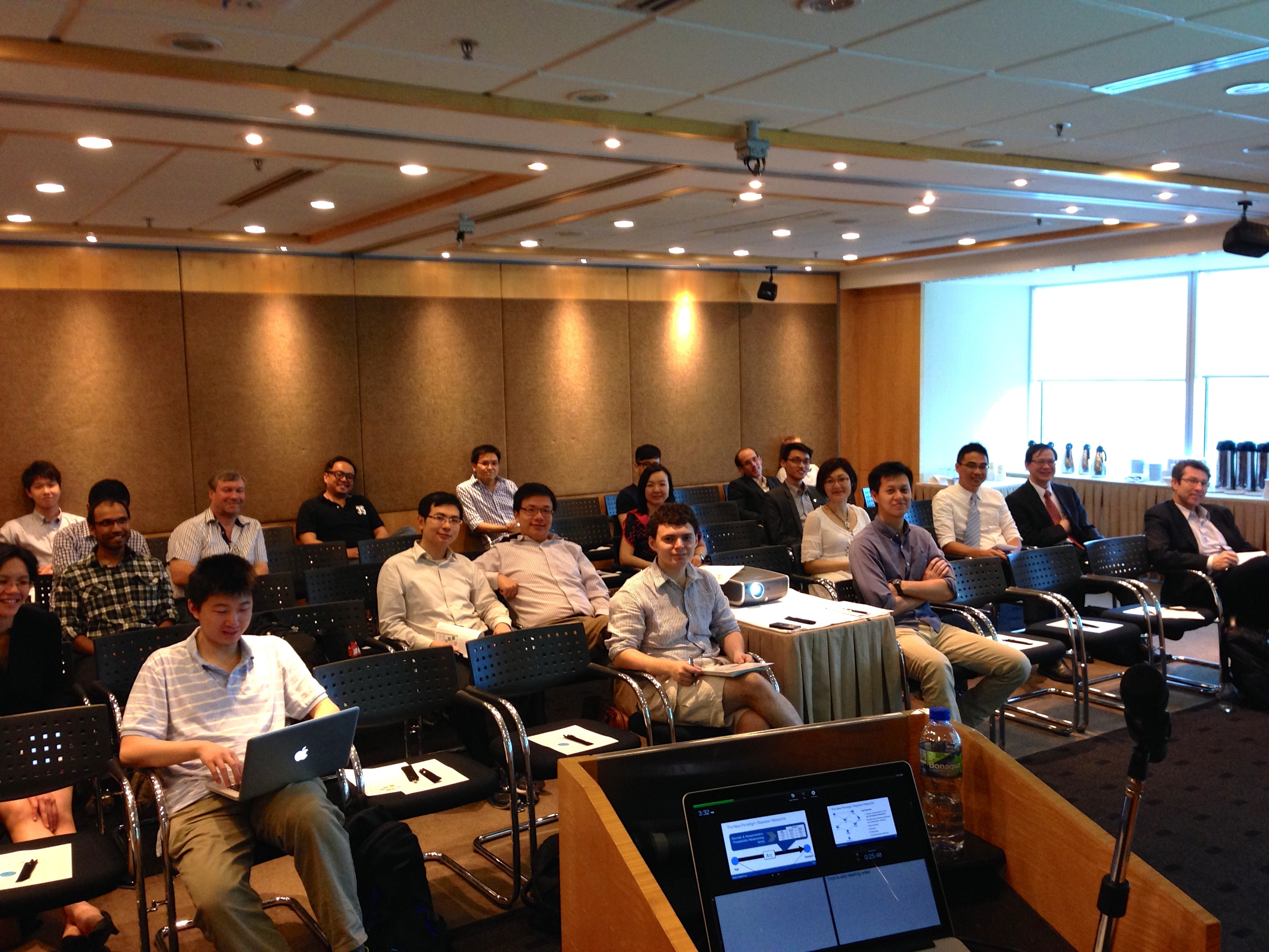 BayesiaLab Workshop in Hong Kong, May 2014