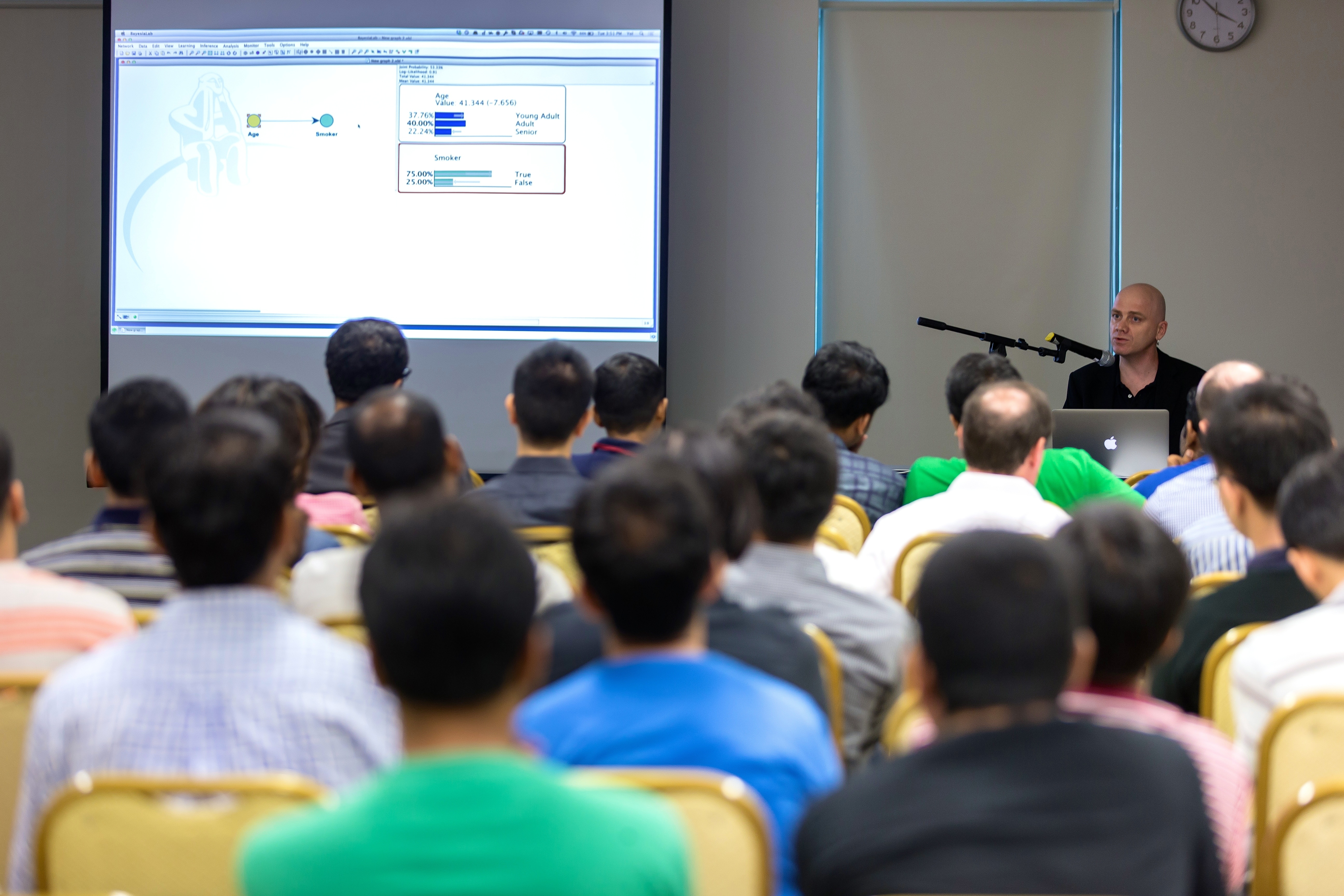 BayesiaLab Workshop in Singapore, May 2014