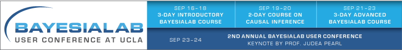 2nd Annual BayesiaLab User Conference