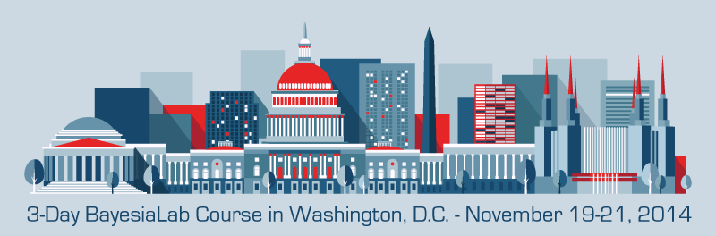 3-Day Introductory BayesiaLab Course in Washington, D.C.