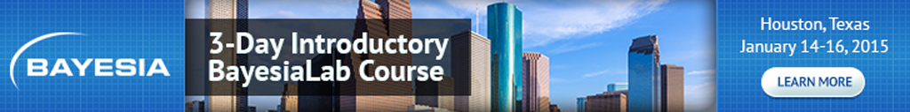 3-Day BayesiaLab Course in Houston, Texas