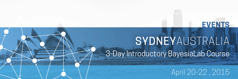 BayesiaLab Course in Sydney