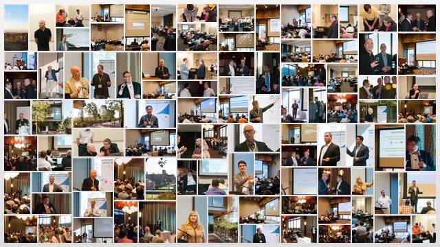 2014 BayesiaLab Conference Collage