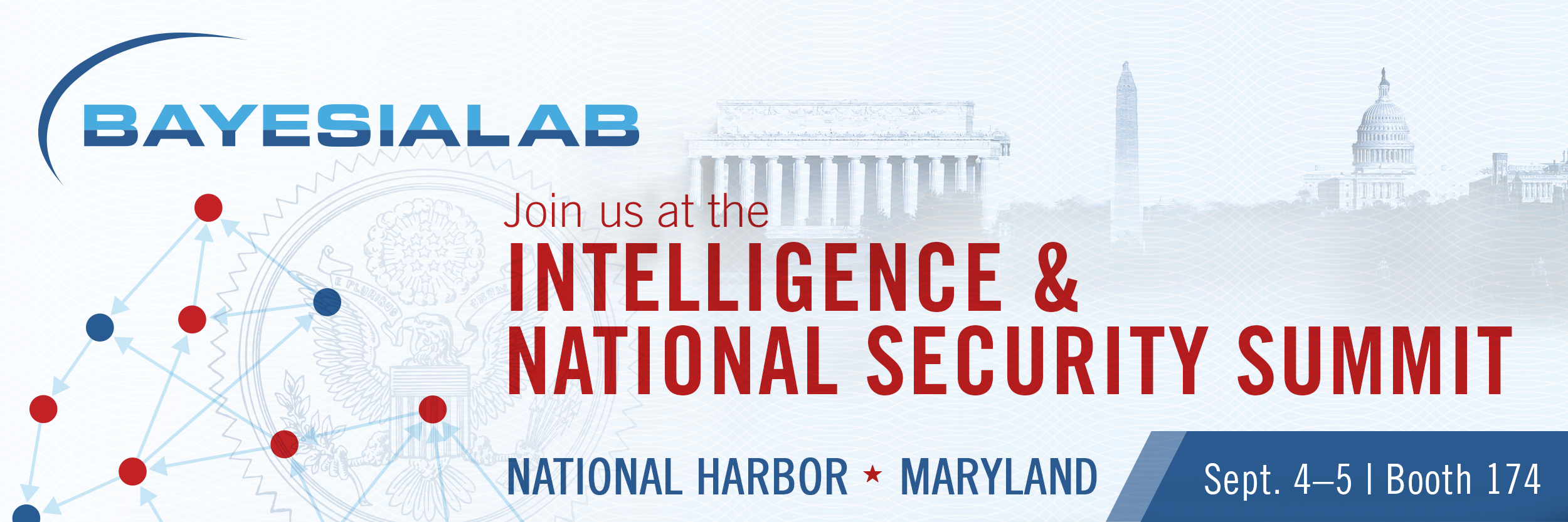 BayesiaLab at the Intelligence & National Security Summit