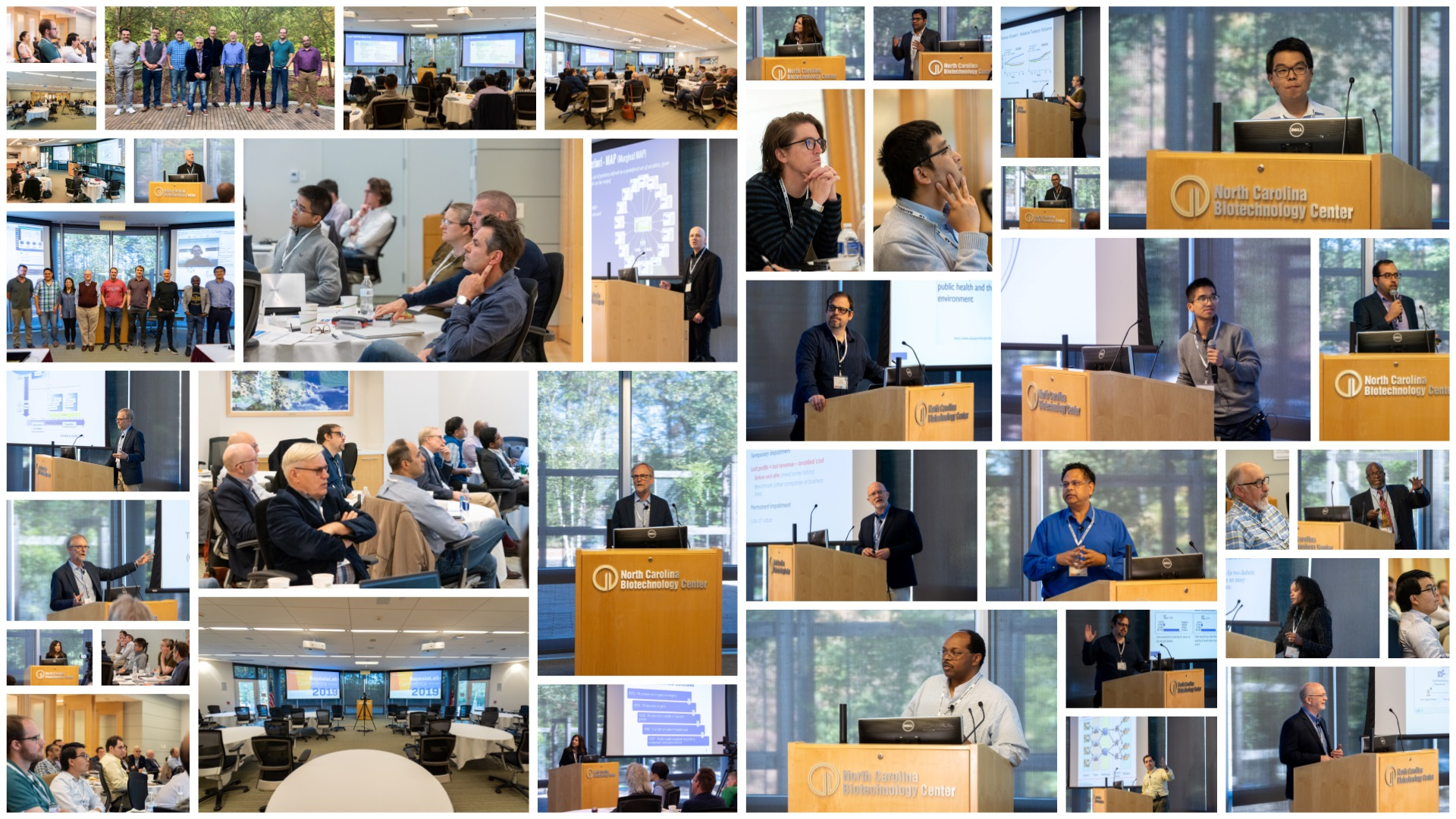 2019 BayesiaLab Conference Collage