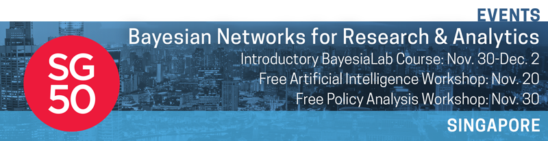 BayesiaLab Events in Singapore