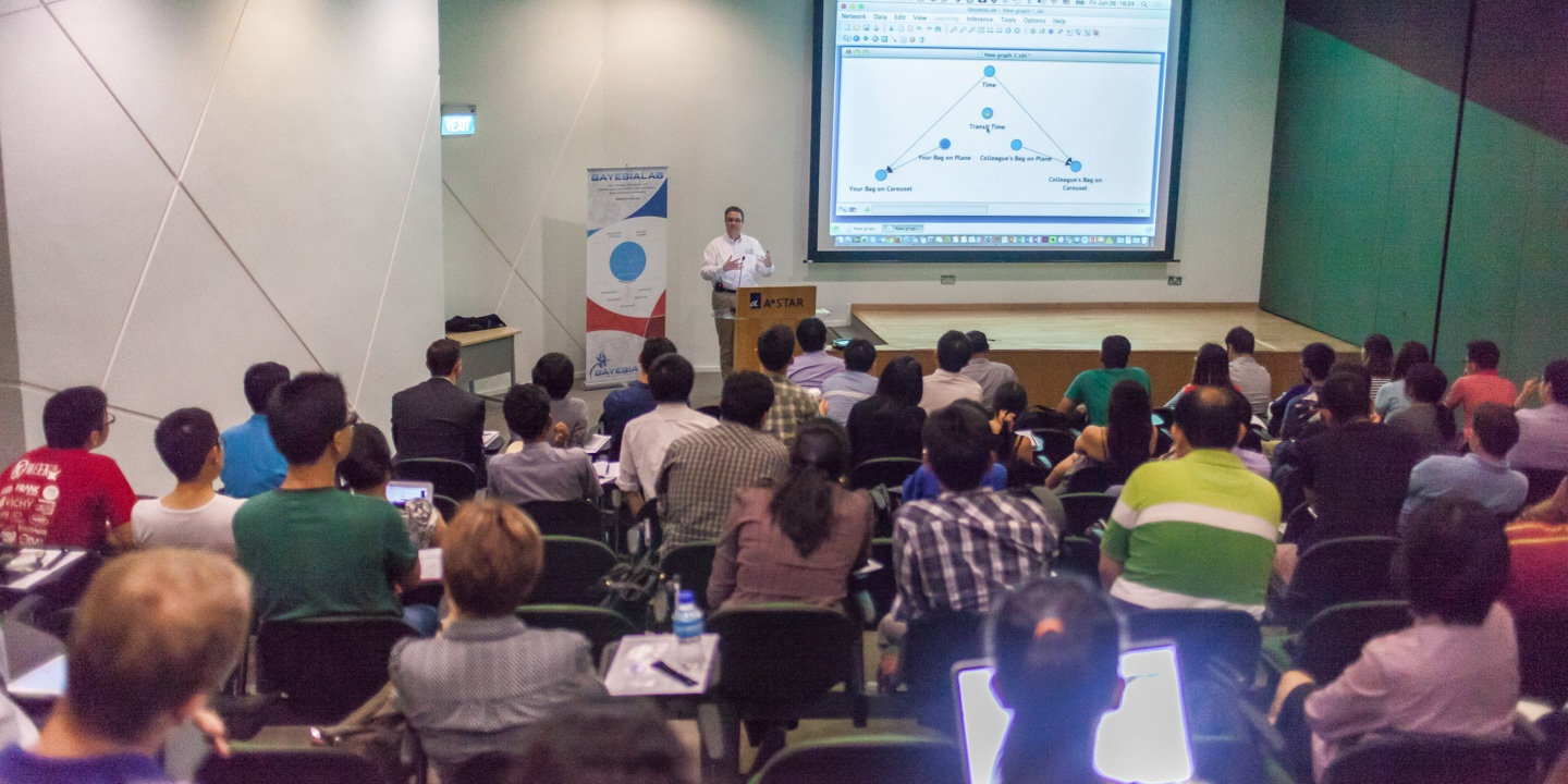BayesiaLab Seminar in Singapore, June 2015